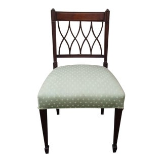 English Side Chair With Carved Back
