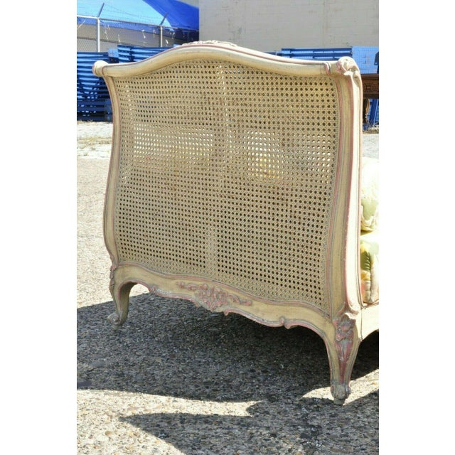 Early 20th Century Early 20th Century French Louis XV Style Daybeds- a Pair For Sale - Image 5 of 12