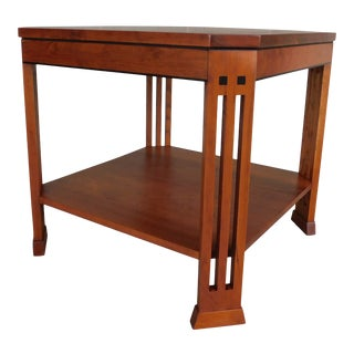 Stickley 21st Century Collection Arts & Crafts Style End Table 91-2024 For Sale