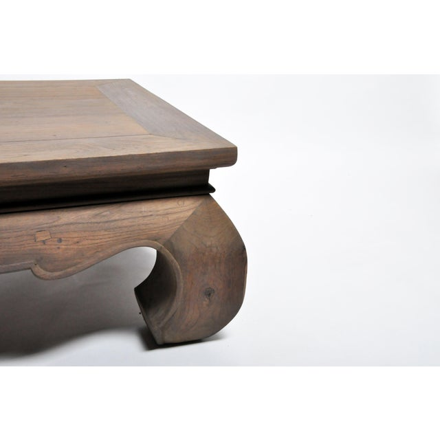 Wood Contemporary Thai Lanna Coffee Table For Sale - Image 7 of 13
