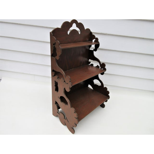 Wooden Tiered Display Shelf - Image 2 of 9
