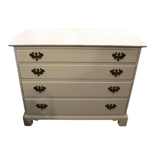 20th Century Cottage Painted Dresser For Sale