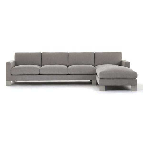 Naula Gray Spring Street Sectional For Sale - Image 4 of 5