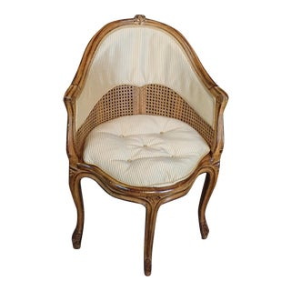 Vintage Mid Century Country French Corner Chair For Sale
