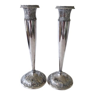 Barbour Silver Candlesticks