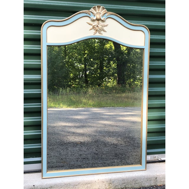 French Provincial Wall Mirror For Sale In Boston - Image 6 of 6
