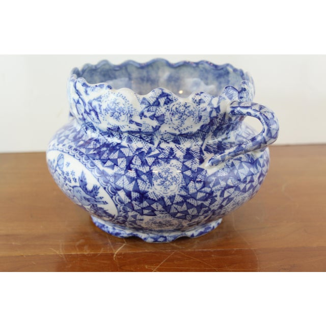 Ceramic Vintage Chinese Vegetable Dish For Sale - Image 7 of 8