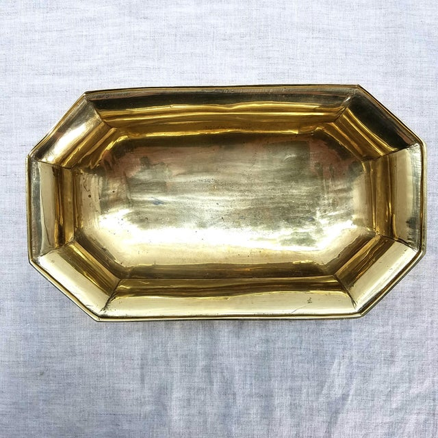 Solid Brass Cachepot Planter - Image 4 of 5