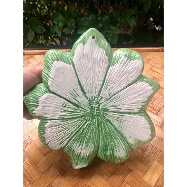 Ceramic Italian Trompe L'oeil Ceramic Pear Plate For Sale - Image 7 of 10