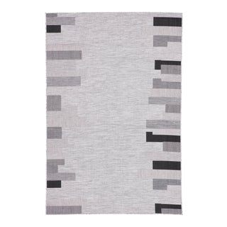 Nikki Chu by Jaipur Living Nikea Indoor/ Outdoor Geometric Area Rug -5′3″ × 7′6″ For Sale