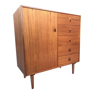 Mid Century Modern Chest of Drawers /Armoire For Sale