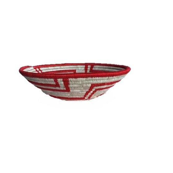 African Woven Basket - Image 2 of 6