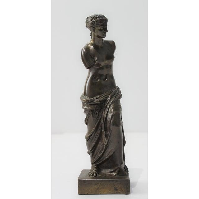Antique Grand Tour Venus De Milo Bronze Figure For Sale - Image 9 of 13