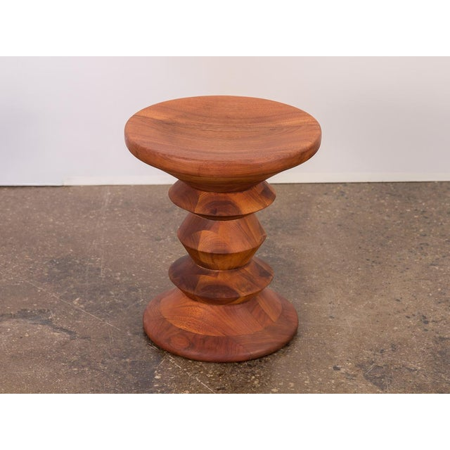 """Brown Eames Time Life Stool """"C"""" For Sale - Image 8 of 8"""
