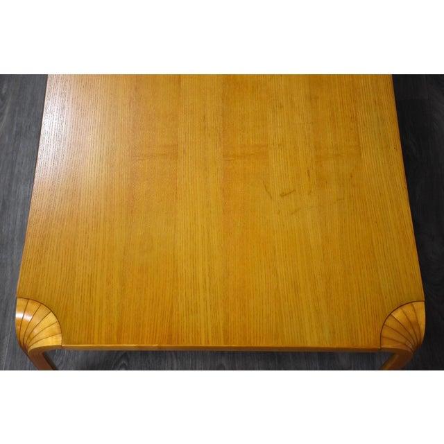 1960s Alvar Aalto Scalloped Coffee Table for Artek For Sale - Image 5 of 11