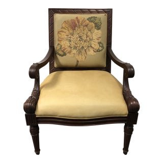 Sam Moore Furniture Arm Chair For Sale