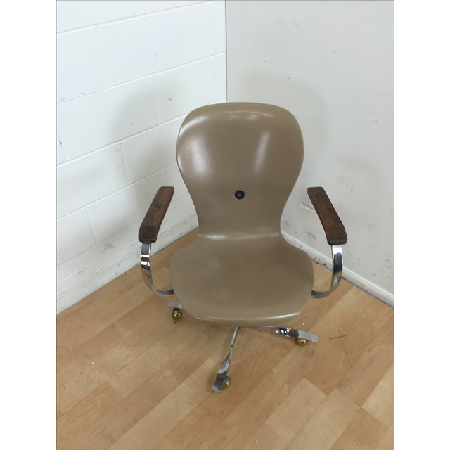 Mid-Century Gideon Kramer Ion Desk Chair - Image 10 of 11