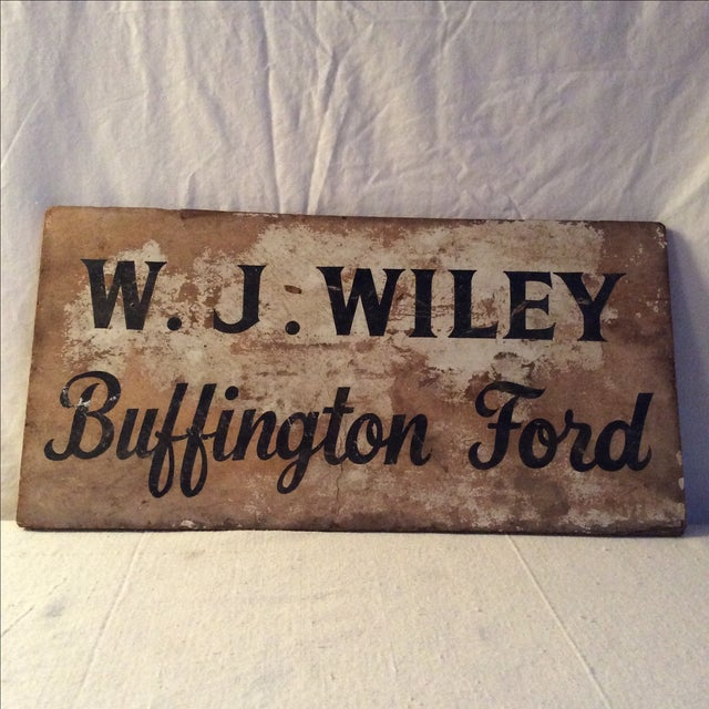 Rustic Vintage Advertising Sign - Image 2 of 3