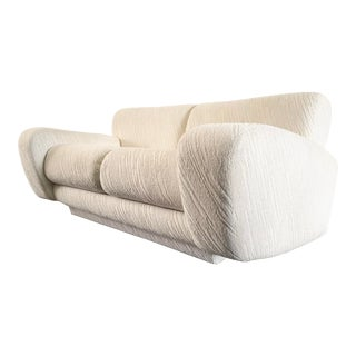 Post Modern Deco Styled Loveseat Sofa For Sale