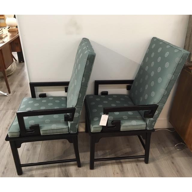 Pair Asian Style Chairs For Sale In New York - Image 6 of 7