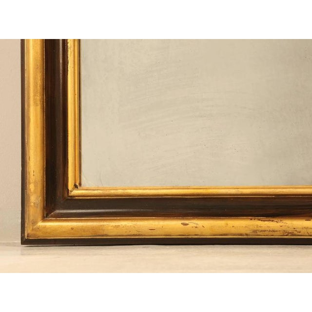 Gold French Mirror of a Grand Scale For Sale - Image 8 of 11