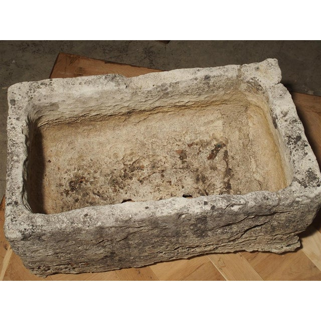 18th Century French Stone Farmhouse Trough For Sale - Image 9 of 13