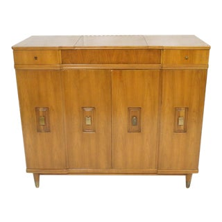 John Widdicomb Dresser with Pop-Up Vanity For Sale