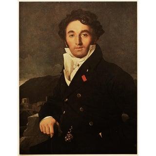 """1951 Ingres """"Portrait of Monsieur Cordier"""", First Edition Parisian Photogravure For Sale"""