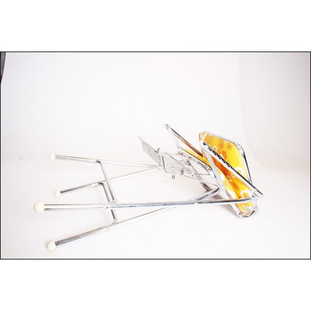 Mid Century Modern 70s Chrome High Chair by Taylor Tot For Sale - Image 10 of 11