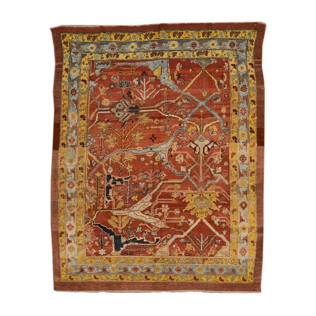 "Vintage Persian Tribal Bakshaish Rug, 7'4"" X 9'4"" For Sale - Image 11 of 11"