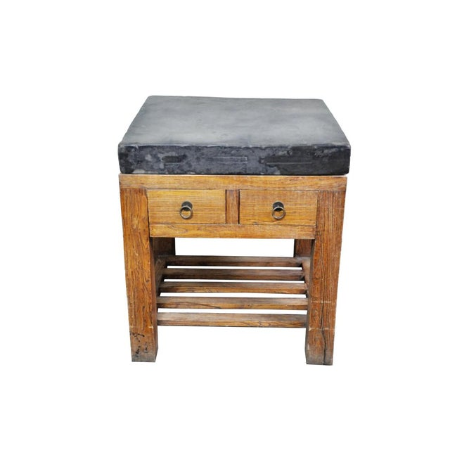 17th Century Chinese Stone Top Incense Table From the Qing Dynasty For Sale - Image 13 of 13
