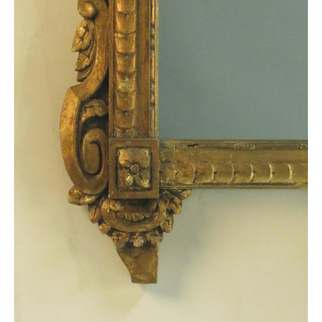 French 20th Century Louis XVI Style Mirror For Sale - Image 3 of 3