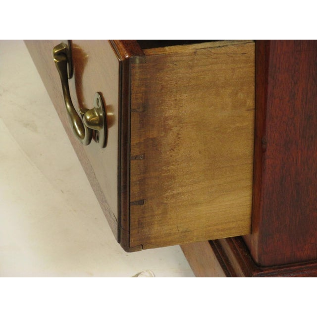 1900s Edwardian Partners Desk For Sale - Image 12 of 13