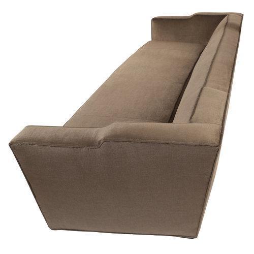 Sensational 1950S James Mont Sofa In Mohair Velvet Ibusinesslaw Wood Chair Design Ideas Ibusinesslaworg