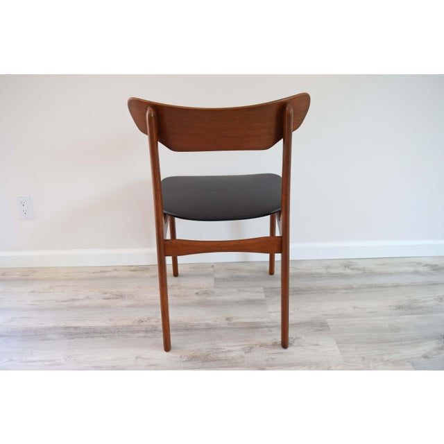 Wood Mid Century Modern Dining Chairs - Set of 4 For Sale - Image 7 of 13