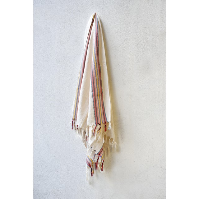 Turkish Hand Made Towel With Natural/Organic Cotton For Sale - Image 4 of 8