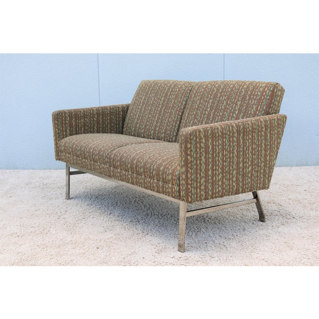 Mid-Century Modern Jack Cartwright Kelly Settee For Sale - Image 13 of 13