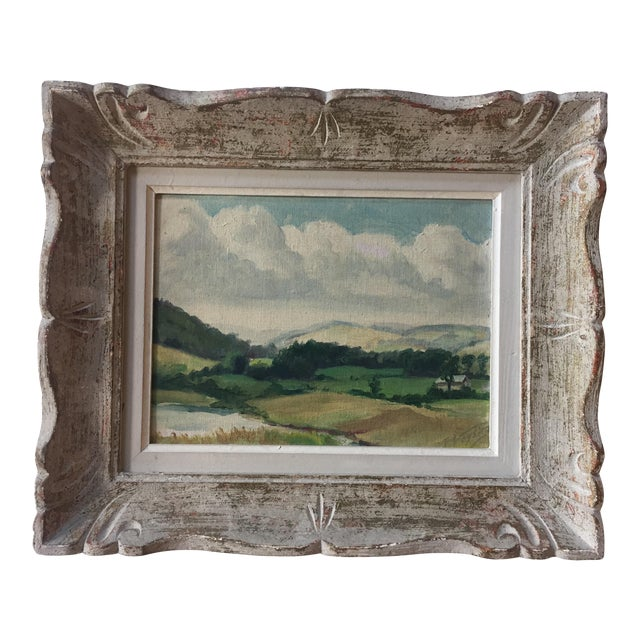 Mid-Century American Impressionist Painting For Sale