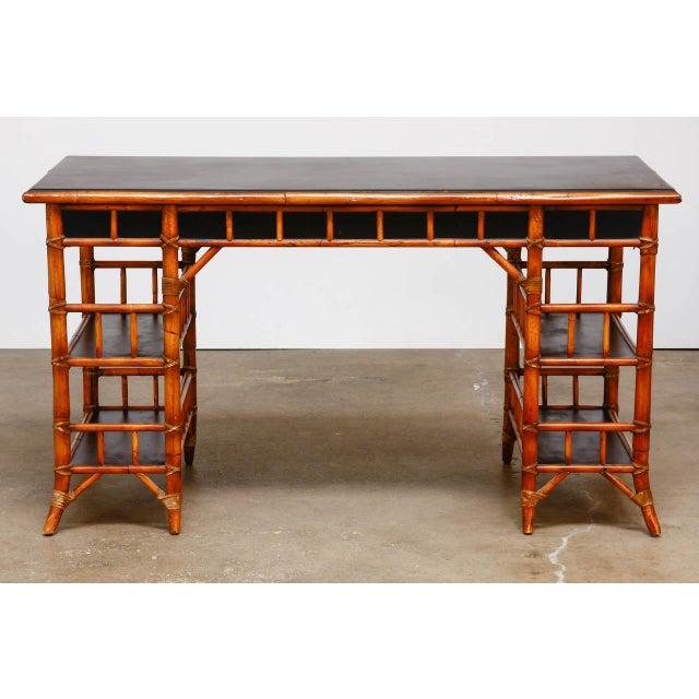 shop beach bamboo cor desk coastal set l d and chair