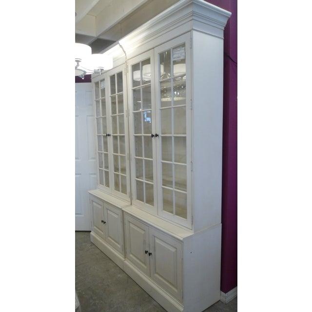 Glass Shelf White Bookcase - Image 5 of 5