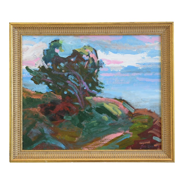 Juan Guzman Santa Barbara Coast Seascape Landscape Oil Painting For Sale