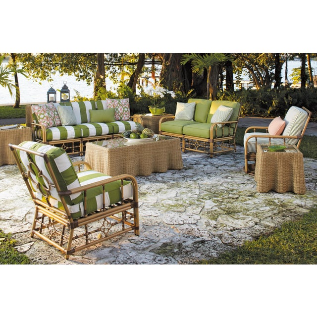 Not Yet Made - Made To Order Celerie Kemble - Mimi Outdoor Lounge Chair For Sale - Image 5 of 6
