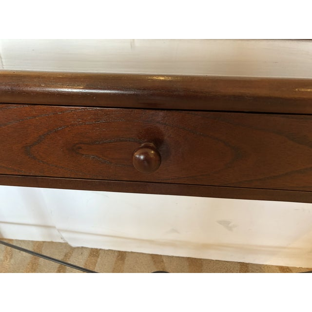 2000 - 2009 Mahogany Console Sofa Table by Grange For Sale - Image 5 of 13