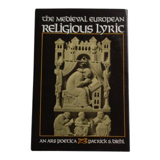 Vintage Medieval European Religious Lyric Book For Sale