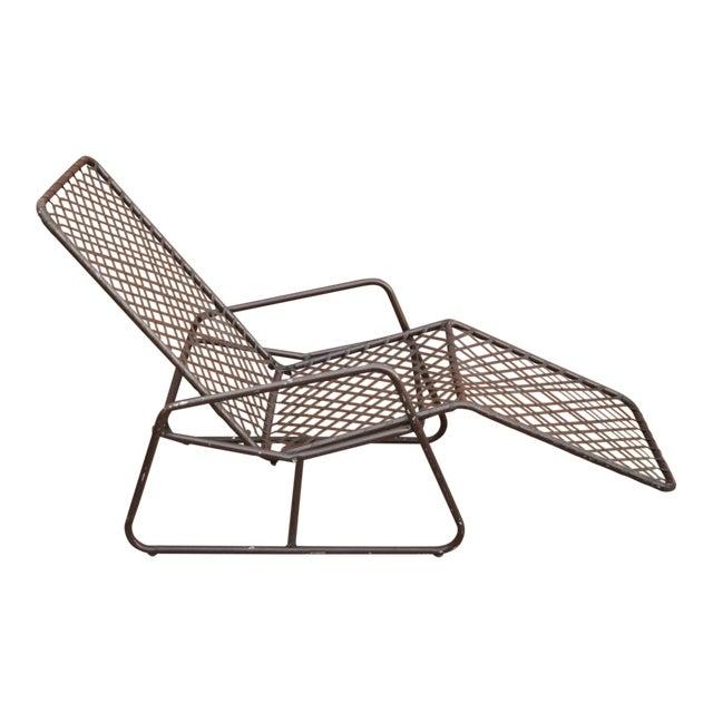 Late 20th Century Vintage Brown Jordan Kantan Tamiami Tilt Lounge Chair For Sale