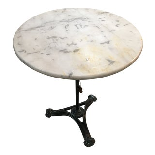 1930s French Art Deco Bistro Table For Sale