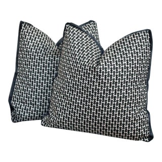Lacefield Echo Boxed Pillows With Down Alternative Inserts - A Pair
