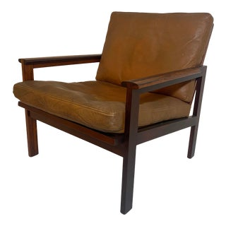 Danish Mid Century 'Capella' Chair by Illum Wikkelso For Sale