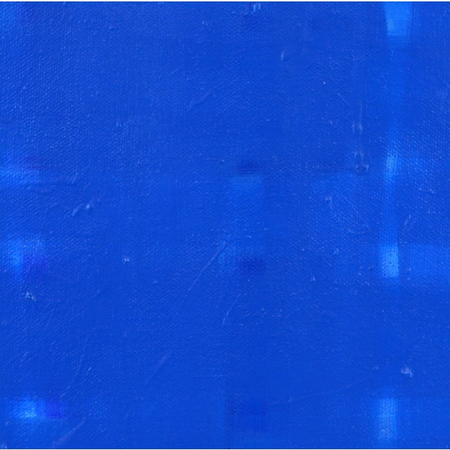 """Early 21st Century Abstract Contemporary Acrylic Painting on Canvas, """"Lights On"""" by Lars Hegelund - Image 7 of 11"""