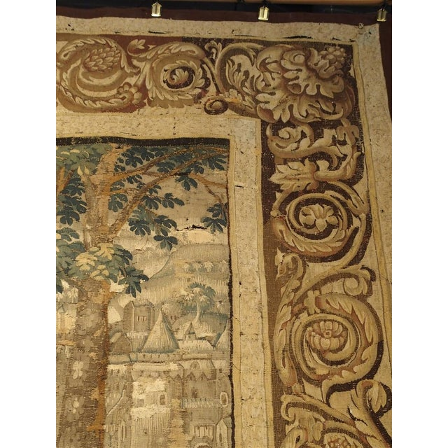 Louis XIV Large 17th Century Flanders Tapestry Depicting a Roman Scene For Sale - Image 3 of 13